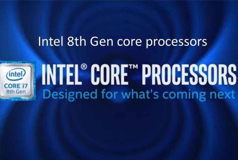 intel 8th gen core processor