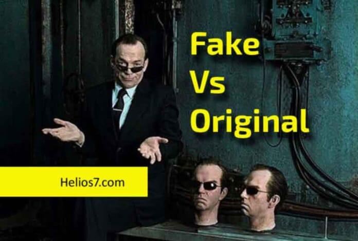 fake vs original mobiles
