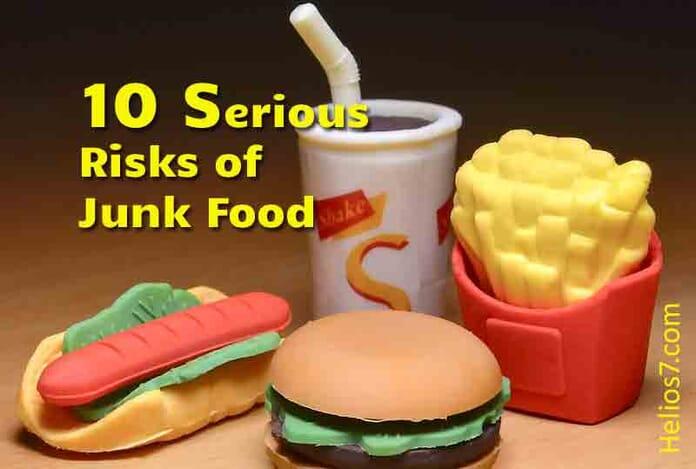 risks of junk food