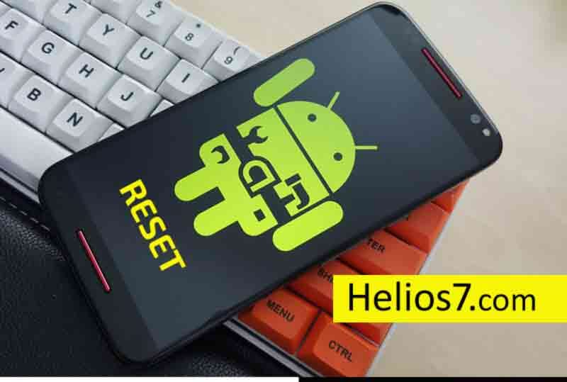 resetting android mobile