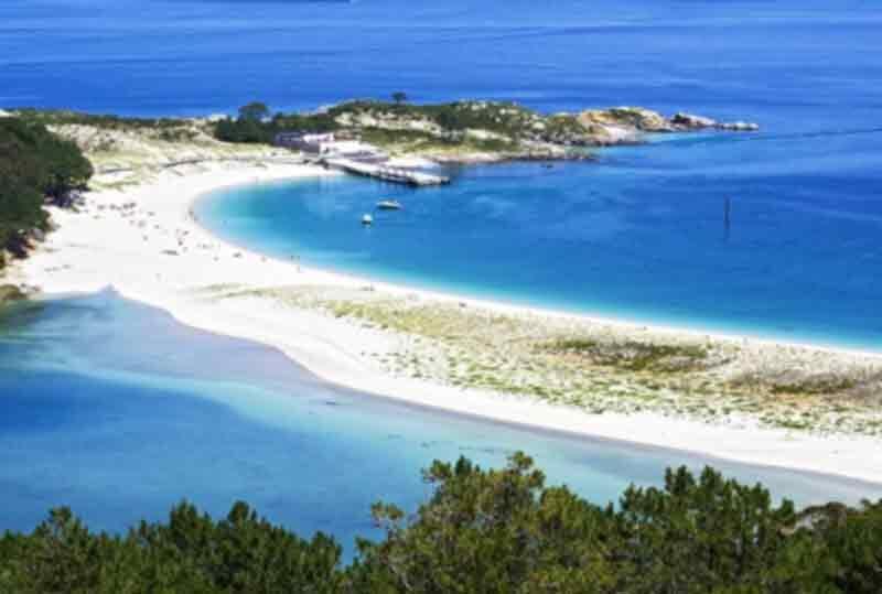 top ten beaches galcia