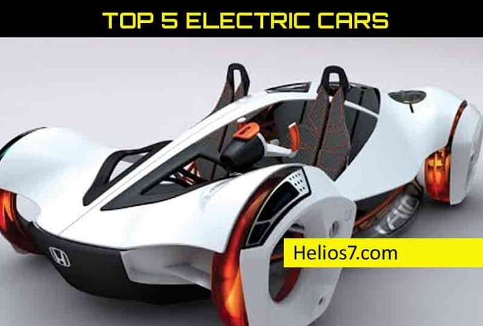 top 5 electric cars