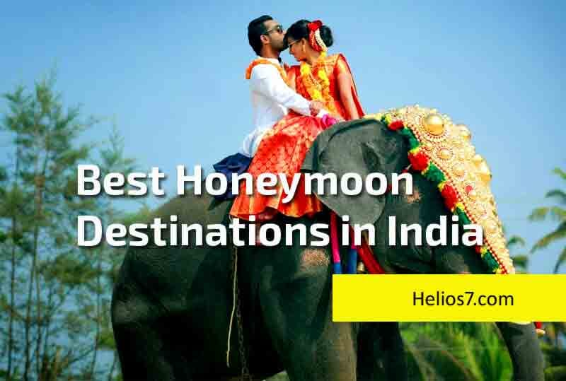 5 honeymoon destinations india