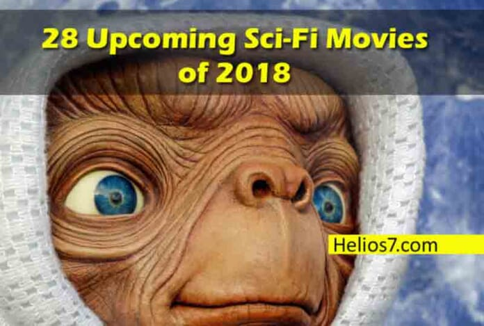 upcoming sci-fi movies 2018