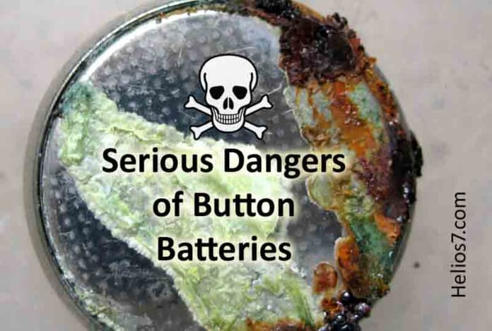dangers button batteries