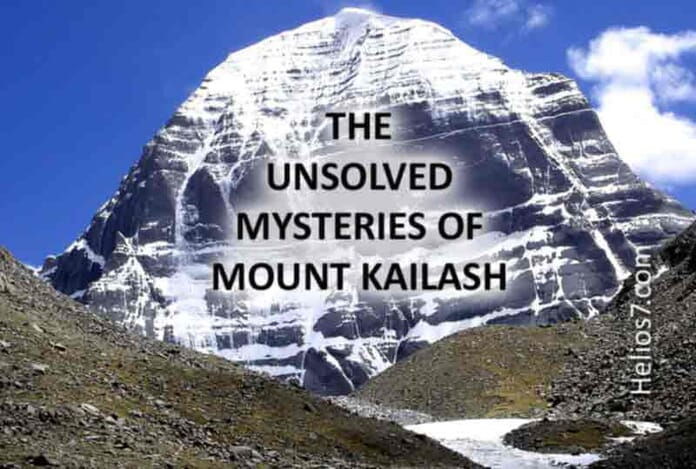 mysteries mount kailash