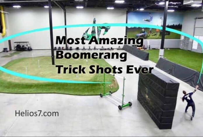 boomerang trick shots